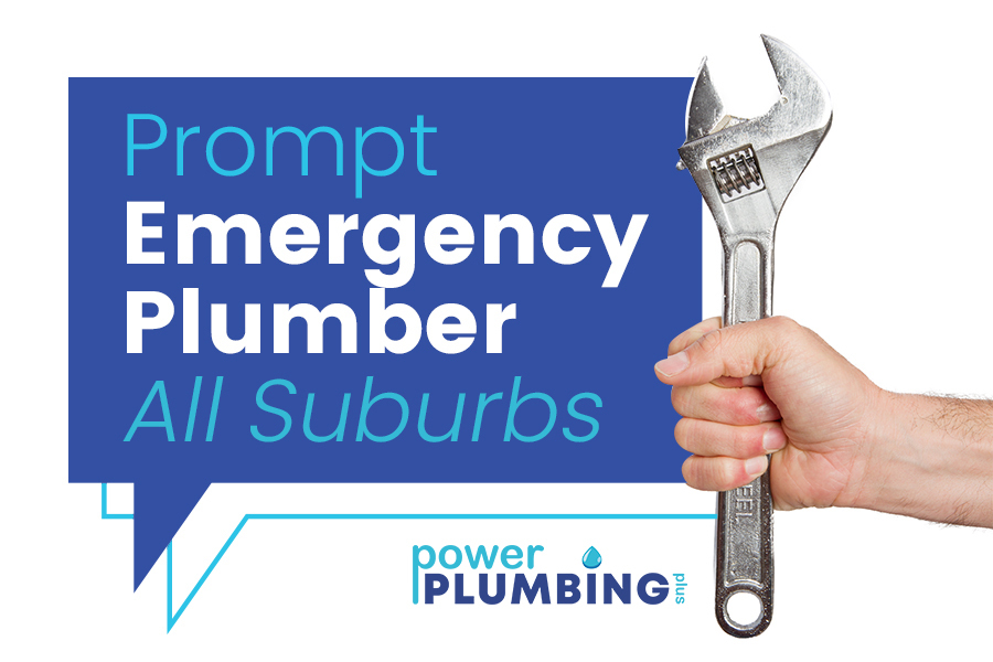 Prompt Emergency Plumbing In Melbourne - Power Plumbing Plus - All Suburbs